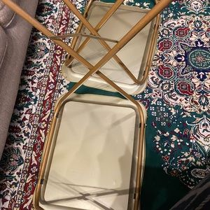 Other - (2) vintage TV trays
